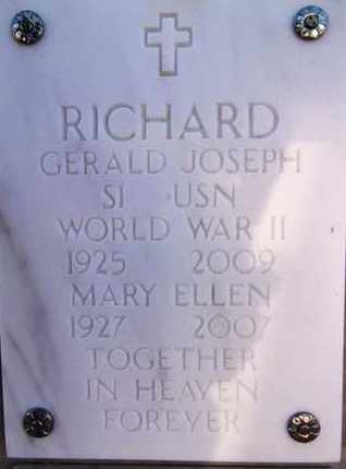 RICHARD, GERALD JOSEPH - Yavapai County, Arizona | GERALD JOSEPH RICHARD - Arizona Gravestone Photos