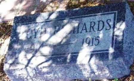 RICHARDS, VIRGIL LOYD - Yavapai County, Arizona   VIRGIL LOYD RICHARDS - Arizona Gravestone Photos