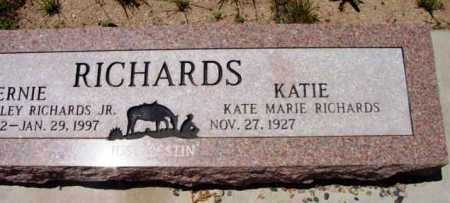 PORTER RICHARDS, KATIE - Yavapai County, Arizona | KATIE PORTER RICHARDS - Arizona Gravestone Photos