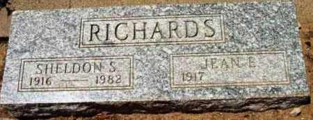 RICHARDS, JEAN E. - Yavapai County, Arizona   JEAN E. RICHARDS - Arizona Gravestone Photos
