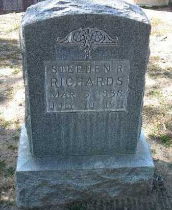 RICHARDS, STEPHEN R. - Yavapai County, Arizona | STEPHEN R. RICHARDS - Arizona Gravestone Photos