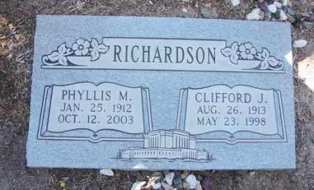 RICHARDSON, CLIFFORD JOHN - Yavapai County, Arizona   CLIFFORD JOHN RICHARDSON - Arizona Gravestone Photos