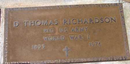 RICHARDSON, DUDLEY T. - Yavapai County, Arizona | DUDLEY T. RICHARDSON - Arizona Gravestone Photos