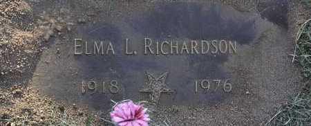 STOOP RICHARDSON, ELMA L. - Yavapai County, Arizona | ELMA L. STOOP RICHARDSON - Arizona Gravestone Photos