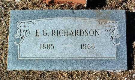 RICHARDSON, EUGIE G. - Yavapai County, Arizona | EUGIE G. RICHARDSON - Arizona Gravestone Photos