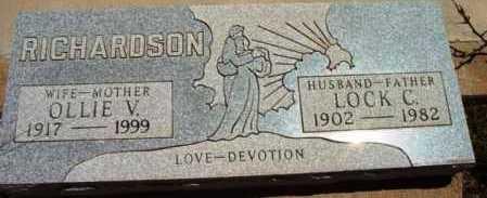 RICHARDSON, OLLIE V. - Yavapai County, Arizona | OLLIE V. RICHARDSON - Arizona Gravestone Photos