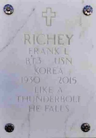RICHEY, FRANK LAWRENCE - Yavapai County, Arizona | FRANK LAWRENCE RICHEY - Arizona Gravestone Photos
