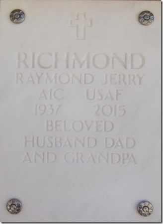 RICHMOND, RAYMOND JERRY - Yavapai County, Arizona | RAYMOND JERRY RICHMOND - Arizona Gravestone Photos