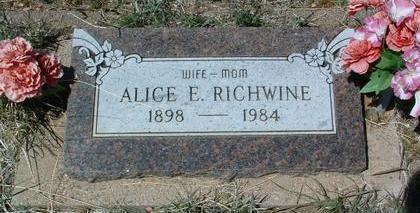 RICHWINE, ALICE VIOLA - Yavapai County, Arizona | ALICE VIOLA RICHWINE - Arizona Gravestone Photos