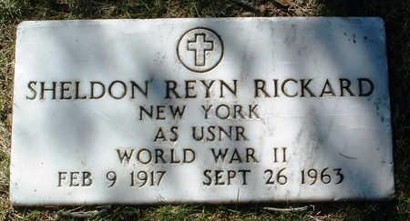 RICKARD, SHELDON REYN - Yavapai County, Arizona | SHELDON REYN RICKARD - Arizona Gravestone Photos