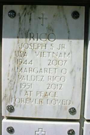 VALDEZ RICO, MARGARET O. - Yavapai County, Arizona   MARGARET O. VALDEZ RICO - Arizona Gravestone Photos