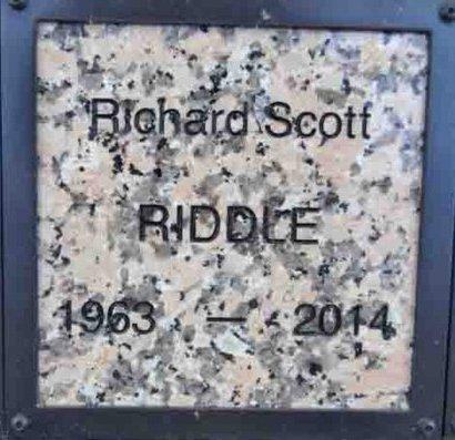 RIDDLE, RICHARD SCOTT - Yavapai County, Arizona   RICHARD SCOTT RIDDLE - Arizona Gravestone Photos