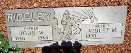 RIDGLEY, JOHN W. - Yavapai County, Arizona | JOHN W. RIDGLEY - Arizona Gravestone Photos