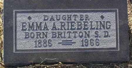 RIEBELING, EMMA ALMIRA - Yavapai County, Arizona | EMMA ALMIRA RIEBELING - Arizona Gravestone Photos