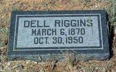 RIGGINS, OLIVER UDELL (DELL) - Yavapai County, Arizona | OLIVER UDELL (DELL) RIGGINS - Arizona Gravestone Photos