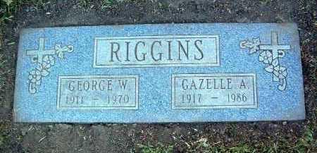 RIGGINS, GEORGE WILLIAM - Yavapai County, Arizona | GEORGE WILLIAM RIGGINS - Arizona Gravestone Photos