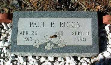 RIGGS, PAUL R. - Yavapai County, Arizona | PAUL R. RIGGS - Arizona Gravestone Photos