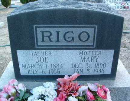 RIGO, MARY - Yavapai County, Arizona | MARY RIGO - Arizona Gravestone Photos