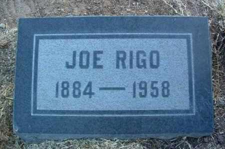 RIGO, JOSEPH (JOE) - Yavapai County, Arizona | JOSEPH (JOE) RIGO - Arizona Gravestone Photos