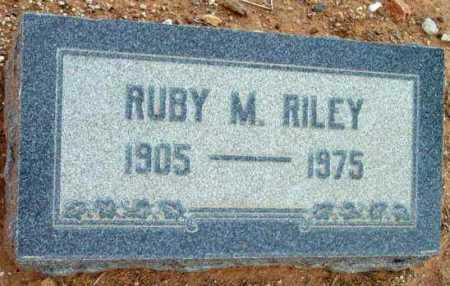 RILEY, RUBY M. - Yavapai County, Arizona | RUBY M. RILEY - Arizona Gravestone Photos