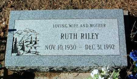 WOODS RILEY, RUTH - Yavapai County, Arizona   RUTH WOODS RILEY - Arizona Gravestone Photos