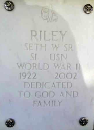 RILEY, SETH WILLIAM - Yavapai County, Arizona | SETH WILLIAM RILEY - Arizona Gravestone Photos