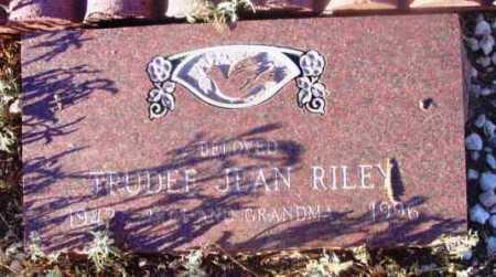 RILEY, TRUDEE JEAN - Yavapai County, Arizona | TRUDEE JEAN RILEY - Arizona Gravestone Photos