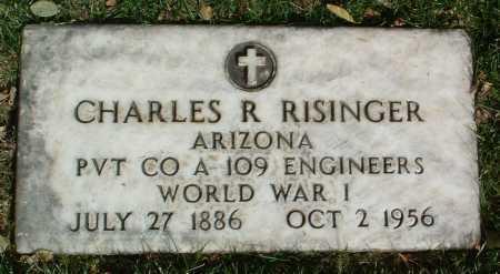 RISINGER, CHARLES R. - Yavapai County, Arizona | CHARLES R. RISINGER - Arizona Gravestone Photos