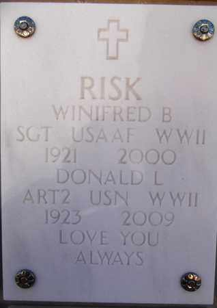 RISK, DONALD LESLIE - Yavapai County, Arizona | DONALD LESLIE RISK - Arizona Gravestone Photos