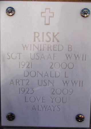 BROWN RISK, WINIFRED B. - Yavapai County, Arizona | WINIFRED B. BROWN RISK - Arizona Gravestone Photos