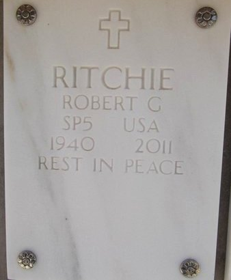 RITCHIE, ROBERT GEORGE - Yavapai County, Arizona | ROBERT GEORGE RITCHIE - Arizona Gravestone Photos