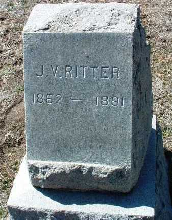 RITTER, JOHN V. - Yavapai County, Arizona | JOHN V. RITTER - Arizona Gravestone Photos