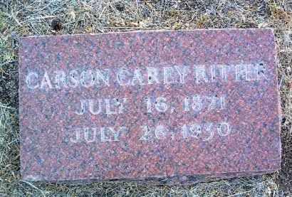 RITTER, CARSON CAREY - Yavapai County, Arizona | CARSON CAREY RITTER - Arizona Gravestone Photos