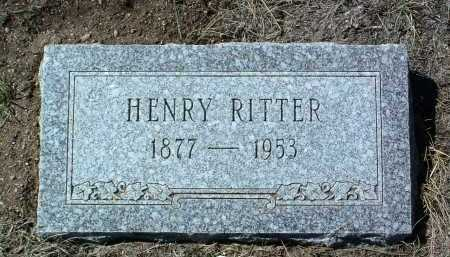 RITTER, HENRY - Yavapai County, Arizona   HENRY RITTER - Arizona Gravestone Photos