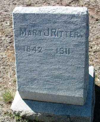 RITTER, MARY JANE - Yavapai County, Arizona | MARY JANE RITTER - Arizona Gravestone Photos
