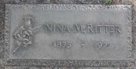 DONNER RITTER, NINA M. - Yavapai County, Arizona | NINA M. DONNER RITTER - Arizona Gravestone Photos
