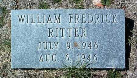 RITTER, WILLIAM FREDRICK - Yavapai County, Arizona | WILLIAM FREDRICK RITTER - Arizona Gravestone Photos