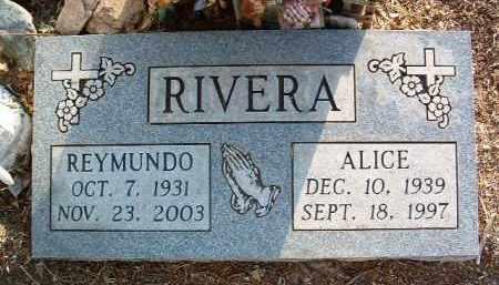 RIVERA, MARY ALICE - Yavapai County, Arizona   MARY ALICE RIVERA - Arizona Gravestone Photos