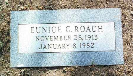 ROACH, EUNICE C. - Yavapai County, Arizona | EUNICE C. ROACH - Arizona Gravestone Photos