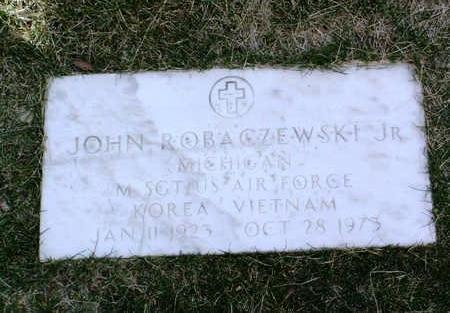 ROBACZEWSKI, JOHN, JR. - Yavapai County, Arizona | JOHN, JR. ROBACZEWSKI - Arizona Gravestone Photos
