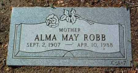 ROBB KRUM, ALMA MAY - Yavapai County, Arizona | ALMA MAY ROBB KRUM - Arizona Gravestone Photos