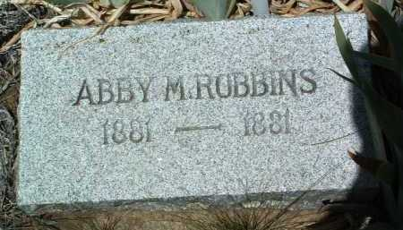 ROBBINS, ABBY - Yavapai County, Arizona | ABBY ROBBINS - Arizona Gravestone Photos