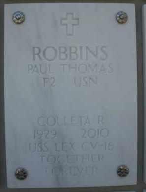ROBBINS, COLLETA - Yavapai County, Arizona | COLLETA ROBBINS - Arizona Gravestone Photos