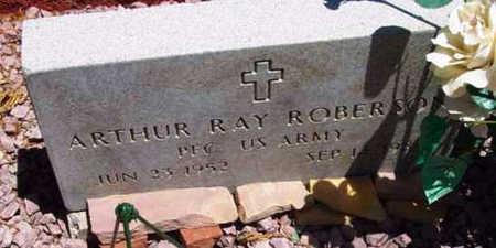ROBERSON, ARTHUR RAY - Yavapai County, Arizona   ARTHUR RAY ROBERSON - Arizona Gravestone Photos