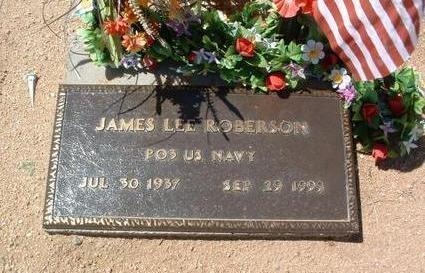 ROBERSON, JAMES LEE - Yavapai County, Arizona   JAMES LEE ROBERSON - Arizona Gravestone Photos