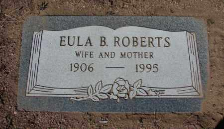 ROBERTS, BERTHA EULA - Yavapai County, Arizona | BERTHA EULA ROBERTS - Arizona Gravestone Photos