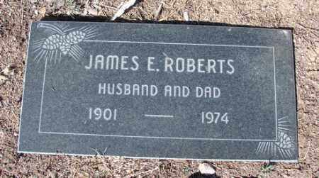 ROBERTS, JAMES EDWARD - Yavapai County, Arizona | JAMES EDWARD ROBERTS - Arizona Gravestone Photos
