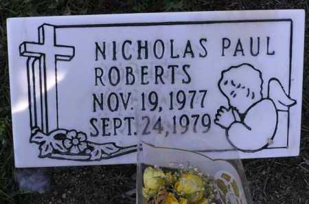 ROBERTS, NICHOLAS PAUL - Yavapai County, Arizona | NICHOLAS PAUL ROBERTS - Arizona Gravestone Photos