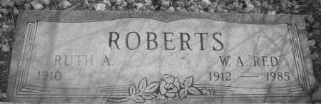 ROBERTS, RUTH A. - Yavapai County, Arizona | RUTH A. ROBERTS - Arizona Gravestone Photos