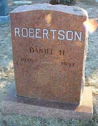 ROBERTSON, DANIEL H. - Yavapai County, Arizona   DANIEL H. ROBERTSON - Arizona Gravestone Photos